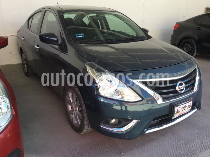 Nissan Versa Advance usado (2016) color Azul precio $168,000