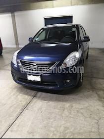 Nissan Versa Advance usado (2012) color Azul precio $104,500