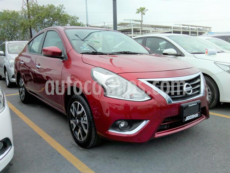 Nissan Versa Advance usado (2019) color Rojo precio $240,000