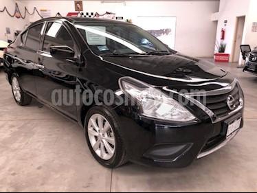 Nissan Versa Advance usado (2018) color Negro precio $189,000