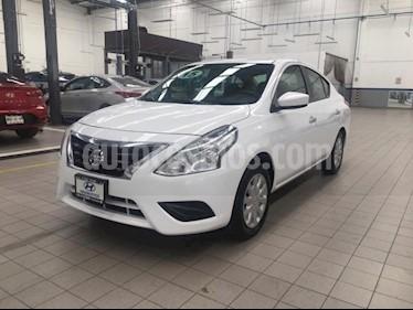 Nissan Versa 4p Sense L4/1.6 Aut usado (2015) color Blanco precio $149,000