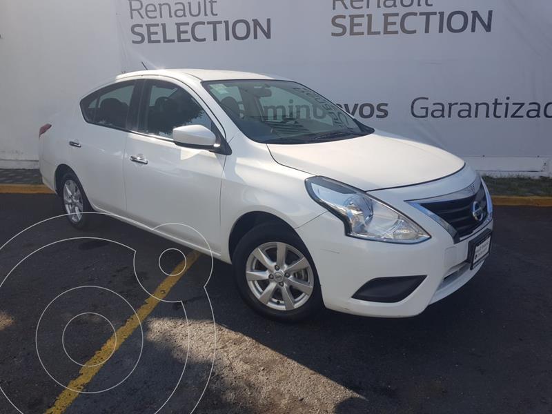 Foto Nissan Versa Sense Aut usado (2019) color Blanco precio $208,000