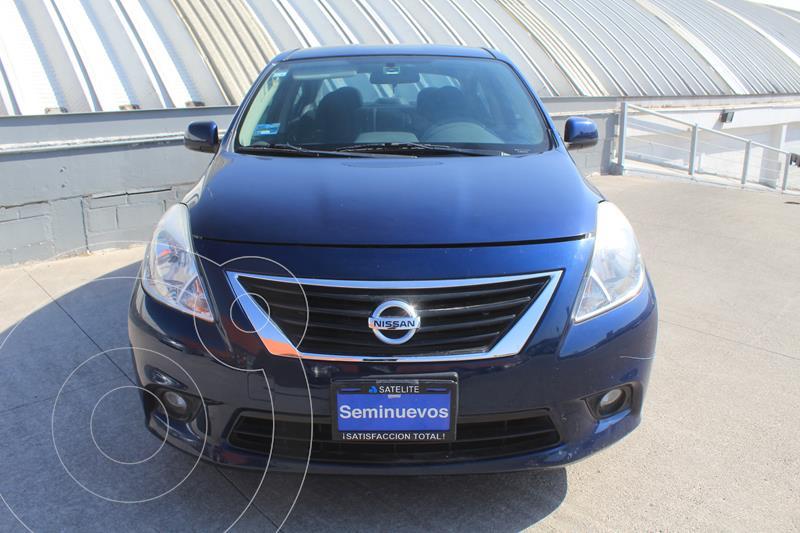 Nissan Versa Advance Aut  usado (2014) color Azul precio $127,000
