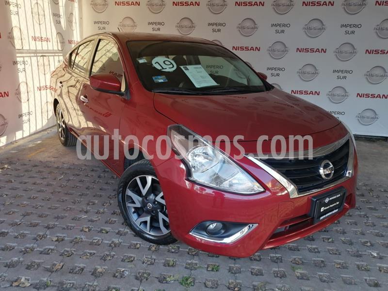 Foto Nissan Versa Advance usado (2019) color Rojo precio $210,000