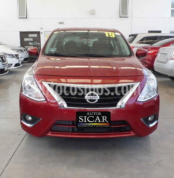 Nissan Versa Advance Aut usado (2019) color Rojo precio $209,000