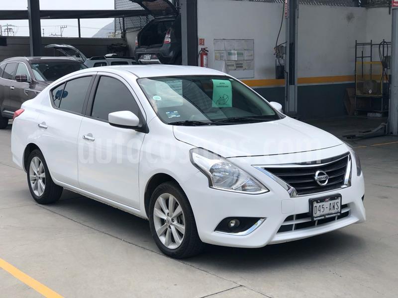 Nissan Versa Advance Aut usado (2018) color Blanco precio $190,000