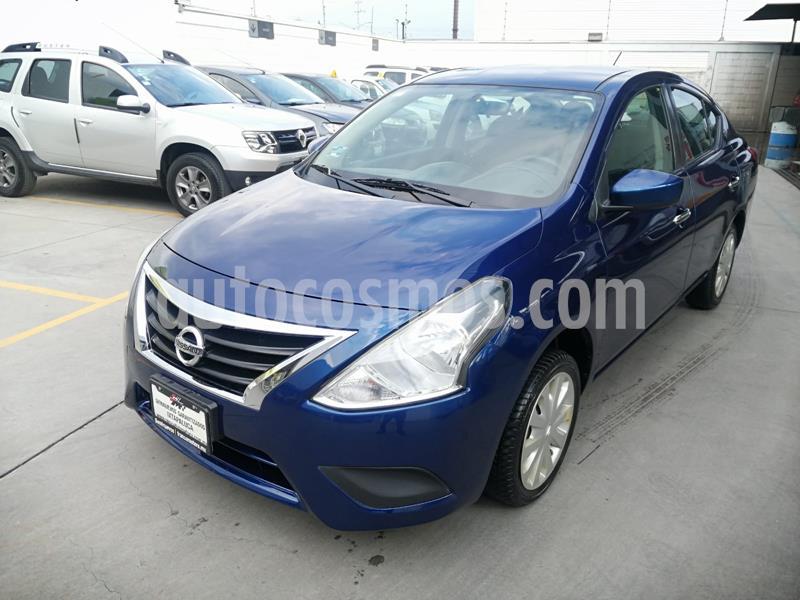 Nissan Versa Sense usado (2018) color Azul precio $165,000