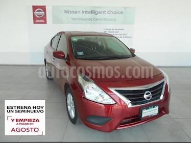 Nissan Versa 4P SENSE L4/1.6 MAN usado (2019) color Rojo precio $219,000