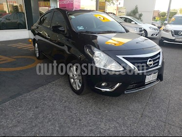 Nissan Versa Advance usado (2019) color Negro precio $215,000