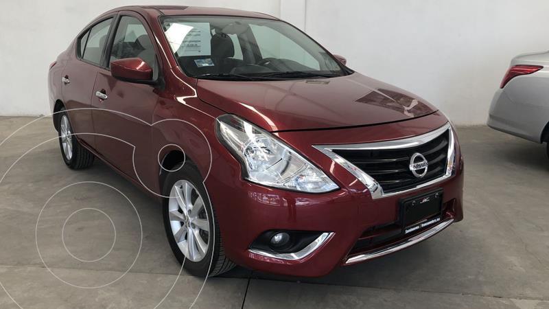 Foto Nissan Versa Advance usado (2018) color Rojo financiado en mensualidades(enganche $50,807 mensualidades desde $3,984)