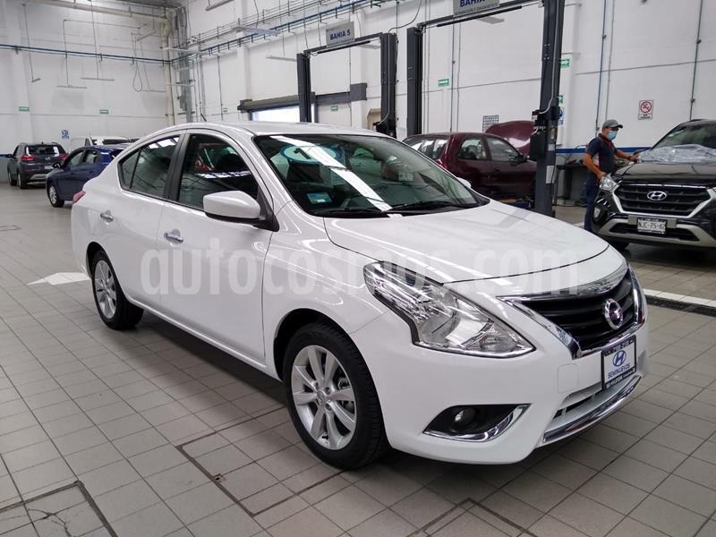 Nissan Versa Advance Aut usado (2018) color Blanco precio $215,000