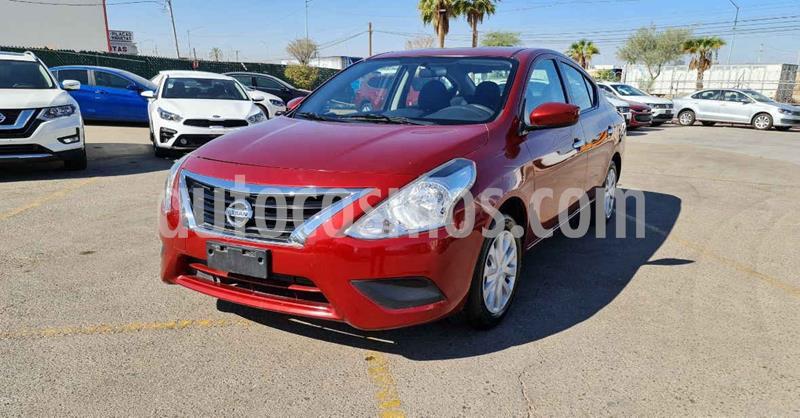 Nissan Versa Sense Aut usado (2018) color Rojo precio $139,900