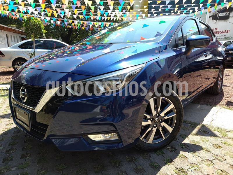 Nissan Versa Advance usado (2020) color Azul precio $270,000
