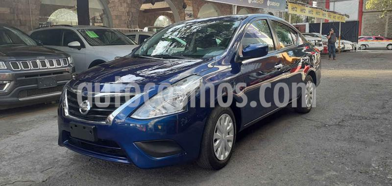 Nissan Versa Sense Aut usado (2018) color Azul precio $159,800