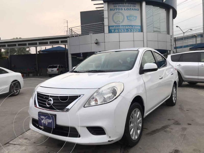 Foto Nissan Versa Sense usado (2012) color Blanco precio $99,900