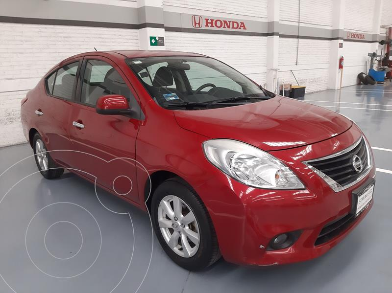 Foto Nissan Versa Advance  usado (2014) color Rojo precio $139,000