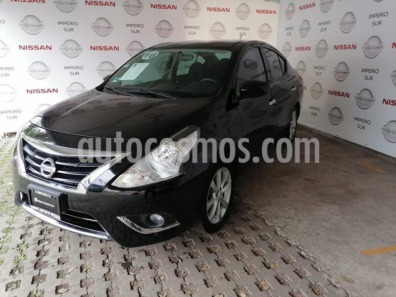 Nissan Versa Advance Aut usado (2016) color Negro precio $155,000