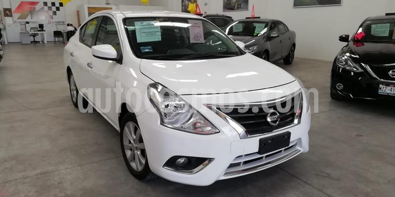 Nissan Versa Sense usado (2016) color Blanco precio $155,000