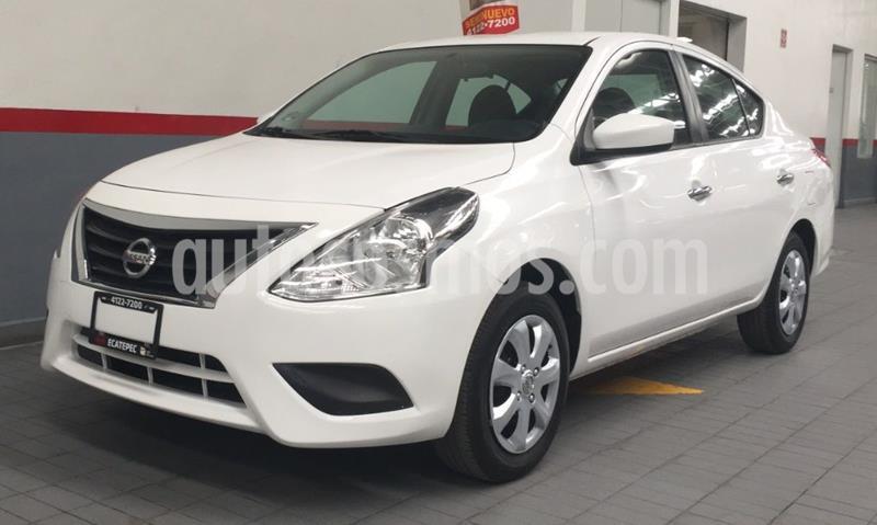 Nissan Versa Advance usado (2018) color Blanco precio $148,000