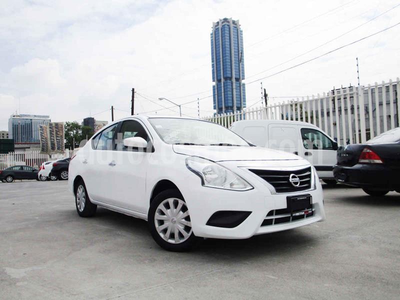 Nissan Versa Sense usado (2015) color Blanco precio $139,990