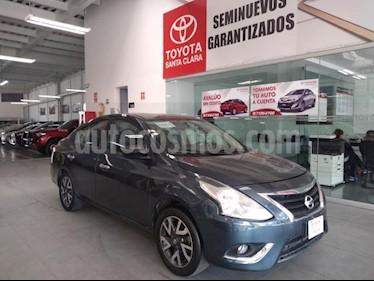 Foto Nissan Versa 4p Exclusive L4/1.6 Aut usado (2017) color Azul precio $189,000