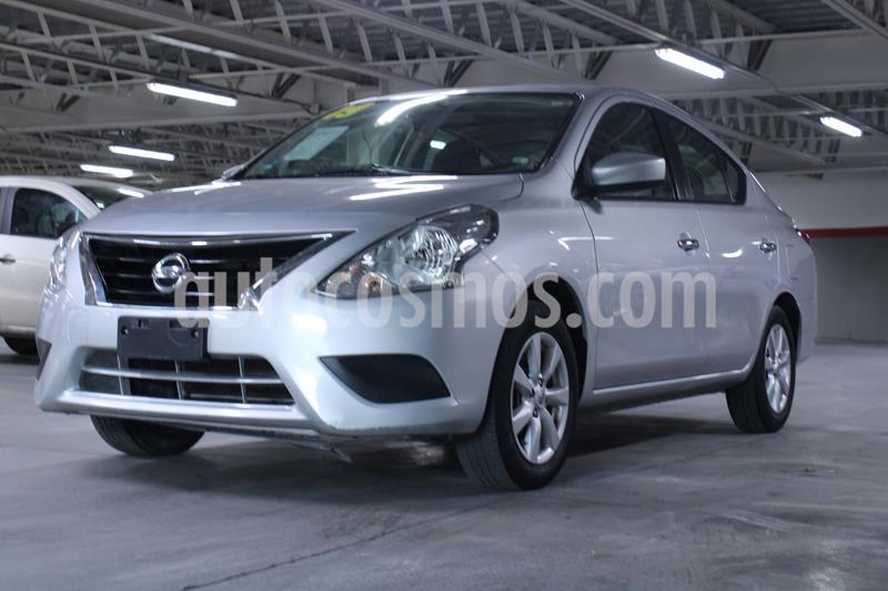 Nissan Versa Sense Aut usado (2019) color Plata Dorado precio $180,000
