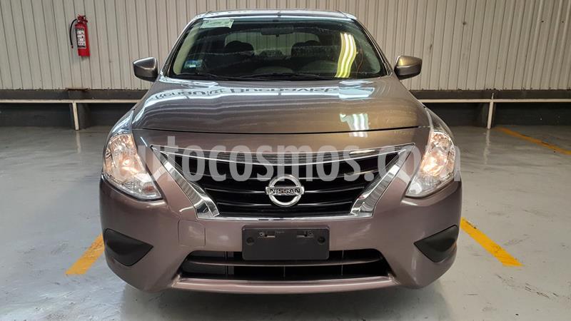 Nissan Versa Sense Aut usado (2019) color Bronce precio $199,000