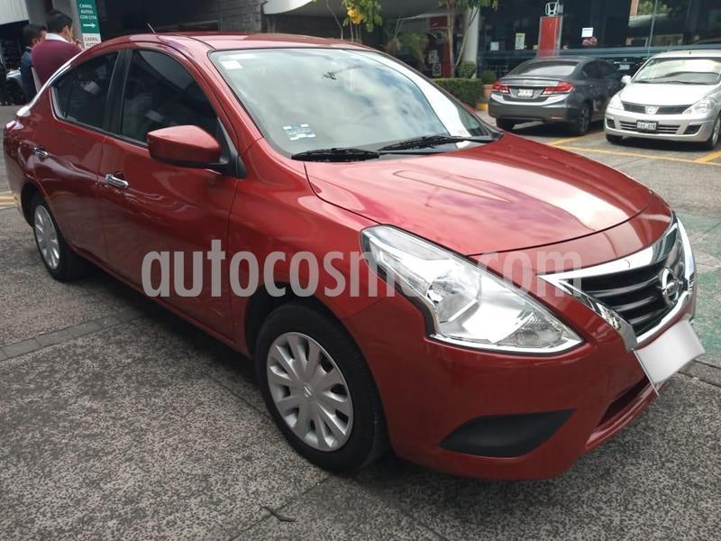 Nissan Versa Sense Aut usado (2015) color Rojo precio $149,000