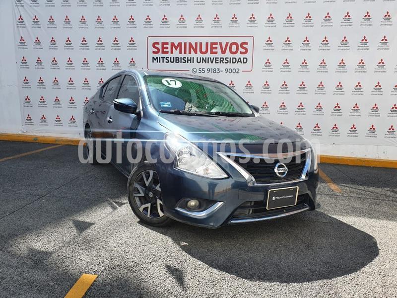 Foto Nissan Versa Exclusive Aut usado (2017) color Azul precio $175,000