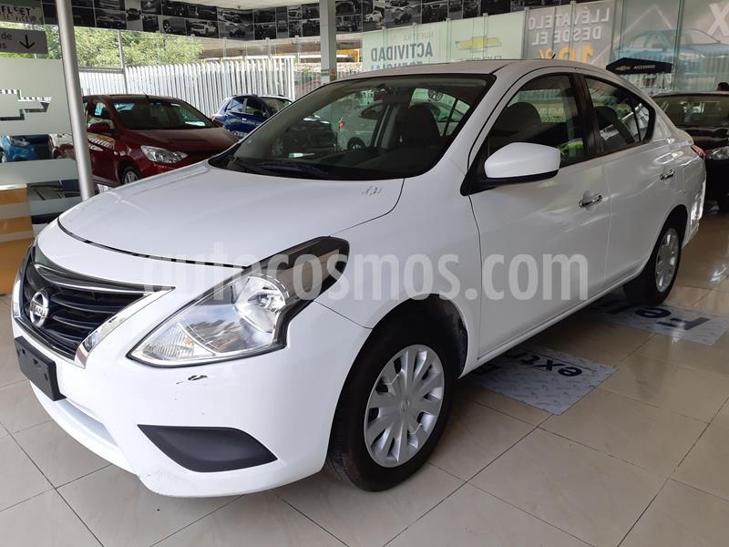 Nissan Versa Sense usado (2018) color Blanco precio $155,000