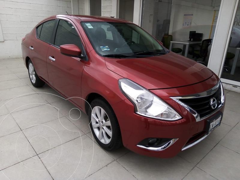 Foto Nissan Versa ADVANCE TA usado (2018) color Rojo precio $203,000
