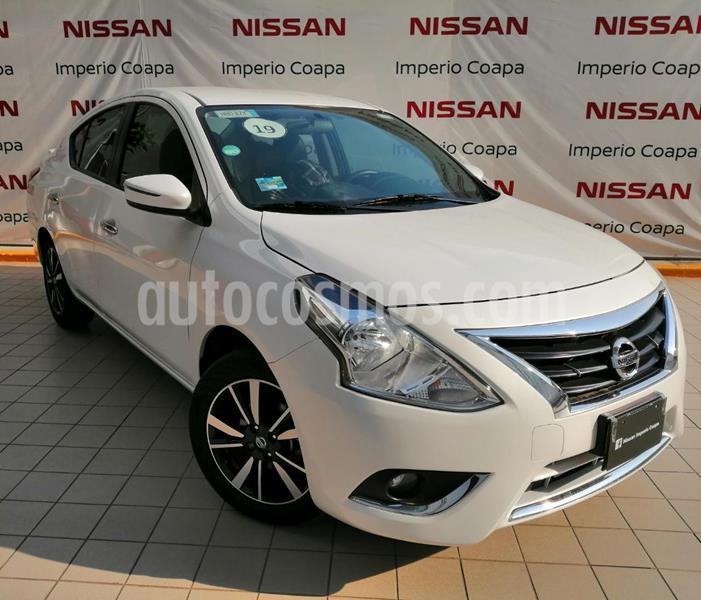 Nissan Versa Exclusive Aut usado (2019) color Blanco precio $249,000