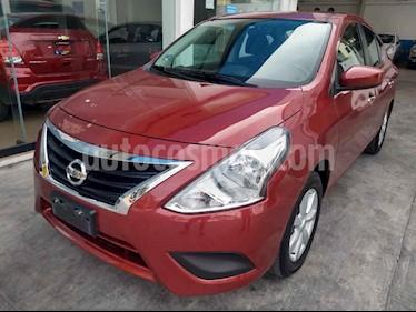 Nissan Versa Sense Aut usado (2019) color Rojo precio $194,900