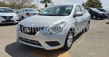 Nissan Versa 4p Sense L4/1.6 Aut usado (2019) color Plata precio $179,900