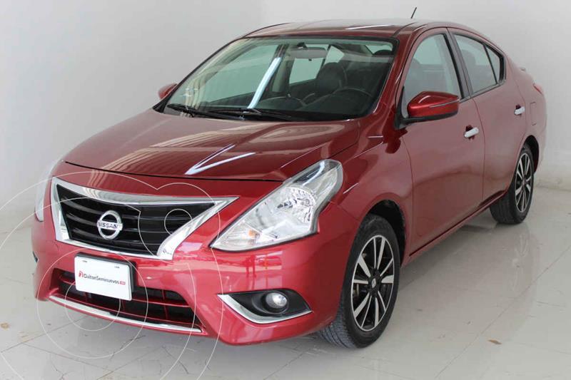 Foto Nissan Versa Exclusive Aut usado (2019) color Rojo precio $245,000