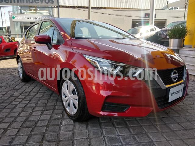 Nissan Versa 4P SENSE L4/1.6 AUT usado (2020) color Rojo precio $230,000