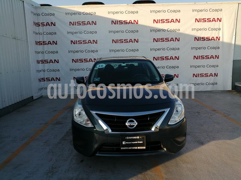 Nissan Versa Sense usado (2016) color Azul precio $154,000