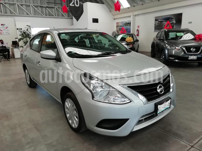 Nissan Versa Sense Aut usado (2019) color Plata precio $189,000