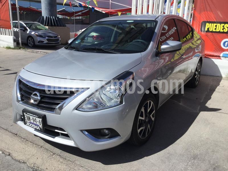 Nissan Versa Advance usado (2019) color Plata precio $229,000