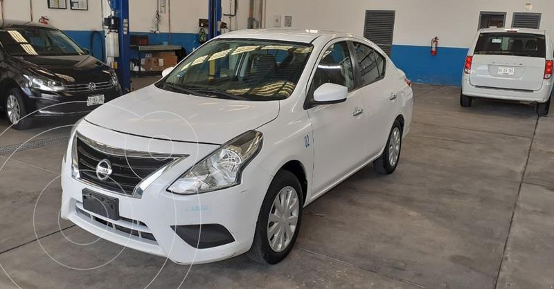 Nissan Versa Sense Aut usado (2017) color Blanco precio $144,900