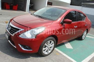 Nissan Versa 4p Advance L4/1.6 Man usado (2016) color Rojo precio $145,000