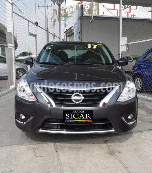Nissan Versa Exclusive NAVI Aut usado (2017) color Granito precio $179,000