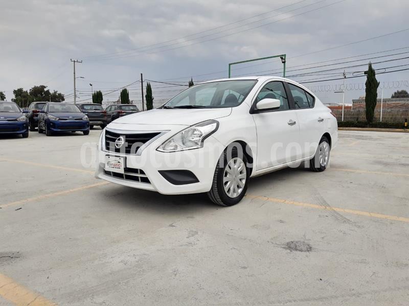 Nissan Versa Sense usado (2017) color Blanco precio $155,000