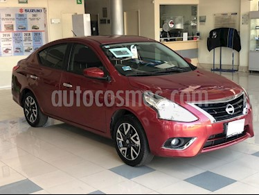 Nissan Versa Advance usado (2019) color Rojo precio $206,000