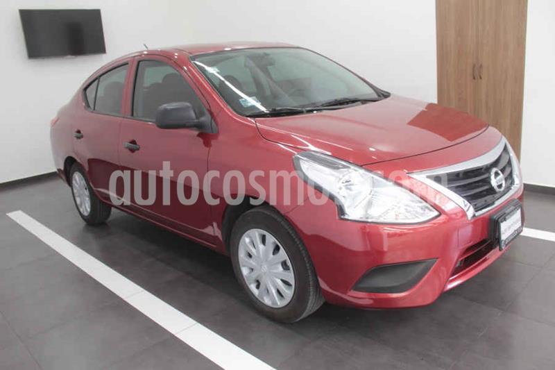 Nissan Versa Drive usado (2020) color Rojo precio $175,000
