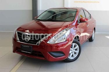 Nissan Versa 4p Sense L4/1.6 Man usado (2019) color Rojo precio $205,000