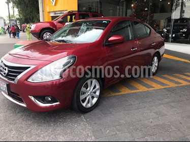 Nissan Versa Advance usado (2018) color Rojo precio $180,000