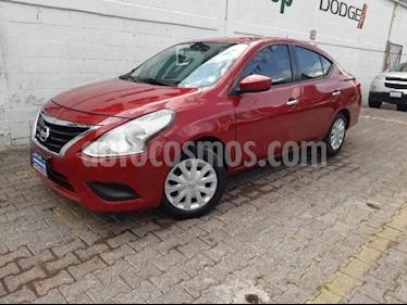 Nissan Versa 4p Sense L4/1.6 Man usado (2015) color Rojo precio $160,000