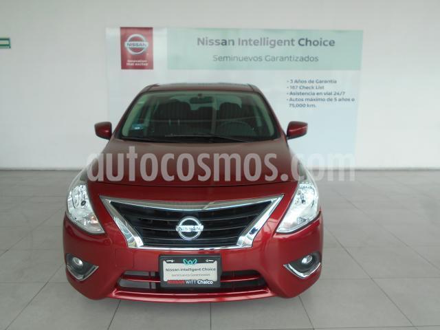Nissan Versa 4P ADVANCE L4/1.6 AUT usado (2019) color Rojo precio $239,000