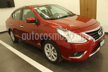 Nissan Versa 4p Advance L4/1.6 Aut usado (2016) color Rojo precio $167,000